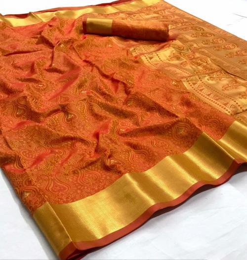 Rajtex Saree Kanjeepuram Silk 147002 Price - 1245