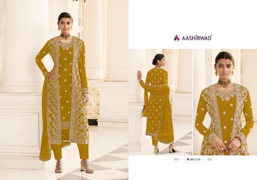 Aashirwad Creation Jacket 8413-D Price - 2495