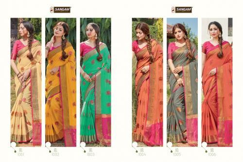 Sangam Prints Sheesha 1001-1006 Price - 6294
