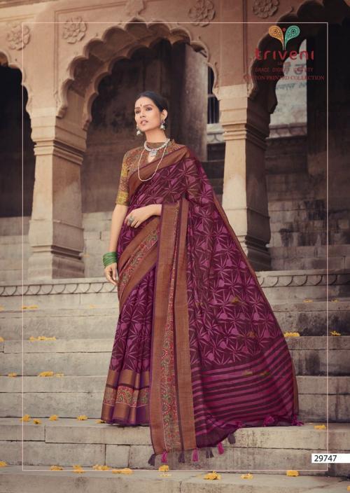 Triveni Saree Ganga Jamuna 29747 Price - 775