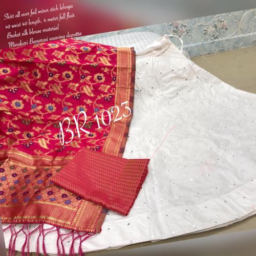BR Designer Foil Mirror Work Designer Lehenga Choli BR-1023-J Price - 1850