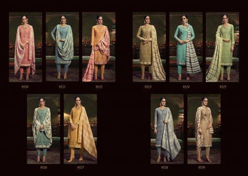 Sadhana Fashion Burberry 9520-9529 Price - 7500
