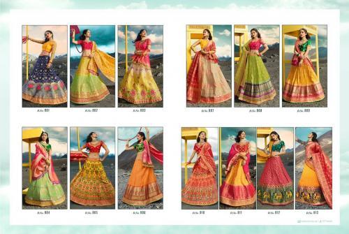 Royal Virasat Lehenga 901-913 Price - 71550