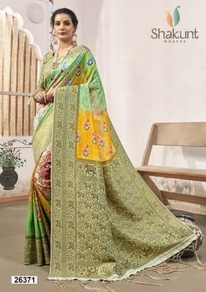 Shakunt Saree Pratibha 26371-26374 Series
