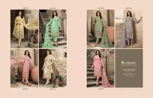 Vinay Fashion Silkina Royal Crepe 10771-10777 Price - Inquiry On Watsapp Number For Price