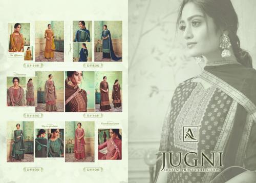 Alok Suits Jugni 418-001-418-006 Price - 5640