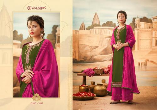 Aashirwad Creation Gulkayra Designer Lotus 1051 Price - 1275