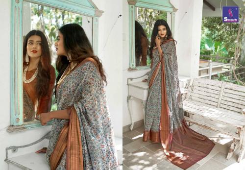 Shangrila Saree Trisha Digtal Linen 51417 Price - 1215
