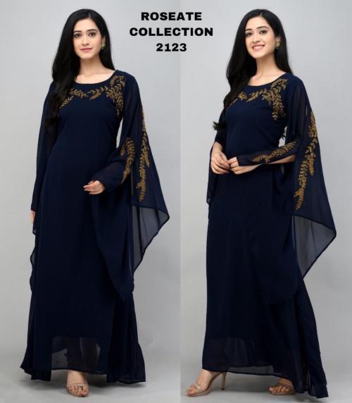 Bollywood Designer Roseate Gown 2123-C Price - 1300