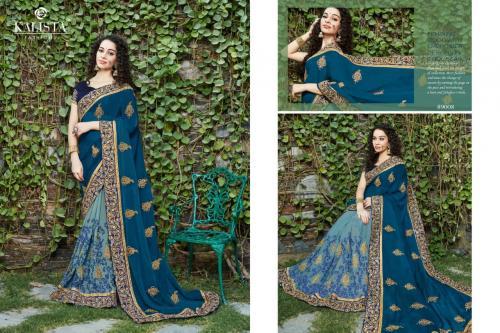 Kalista Fashion Platinum wholesale saree catalog