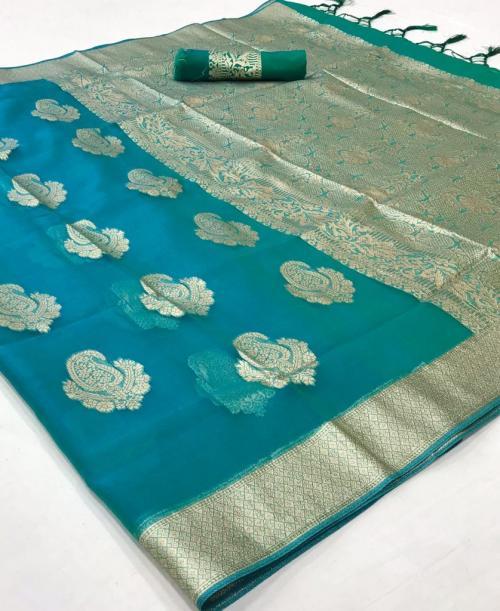 Raj Tex Kaaz Organza 183001 Price - 1725