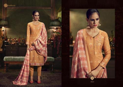 Sadhana Fashion Burberry 9522 Price - 750