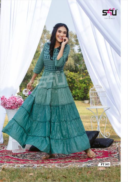 S4U Shivali Flairy Tales 503 Price - 875