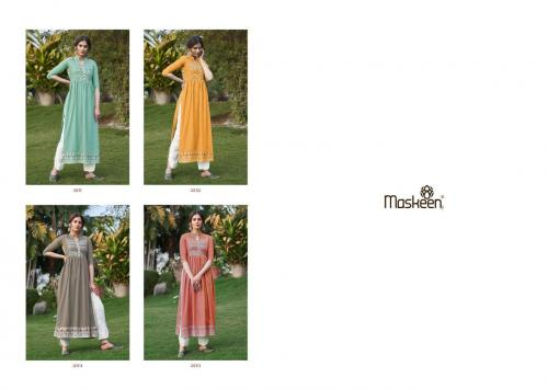 Maisha Maskeen Nazneen 2111-2114 Price - 4796