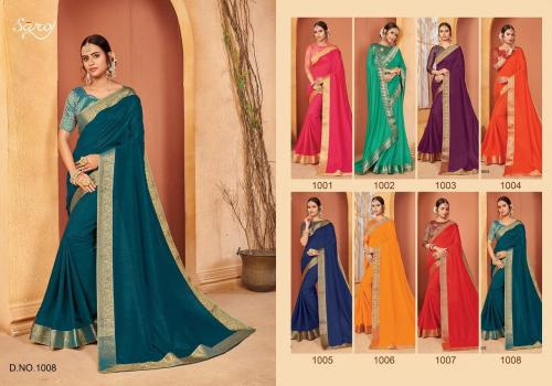 Saroj Saree Quality 1008 Price - 645