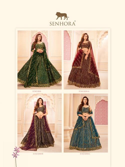 Senhora Dresses Sakhi Bridal Heritage 2018 Colors  Price - 11580