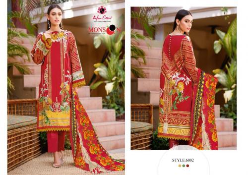 Nafisa Cotton Monsoon 6002 Price - 399