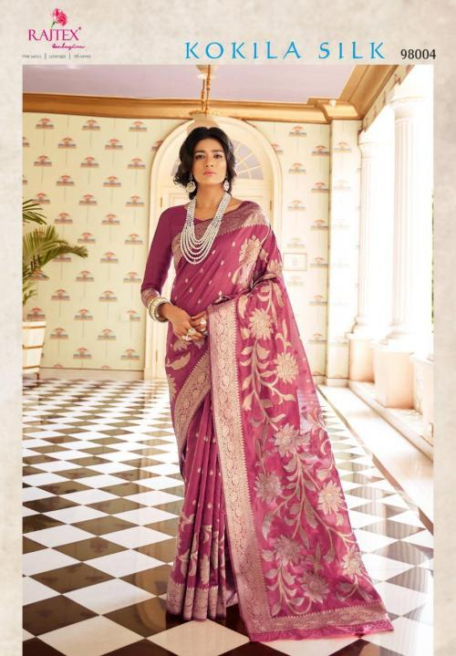 Rajtex Saree Kokila Silk 98004 Price - 1360