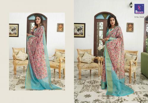 Shangrila Saree Trisha Digtal Linen 51418 Price - 1215