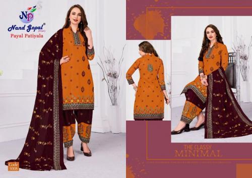 Nand Gopal Payal Patiyala 5008 Price - 300