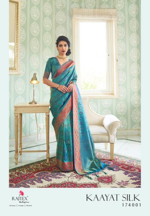 Rajtex Saree Kayaat Silk 174001 Price - 1695