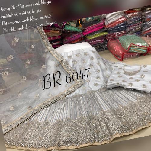 BR Designer Net Sequence Lehenga BR-6047-A Price - 2949