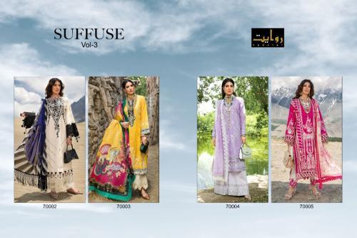 Rawayat Suffuse 7002-7005 Price - 3300