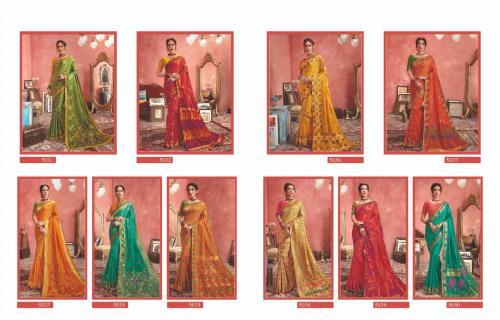 Kessi Fabrics Shagun Silk 5031-5040 Price - 12000