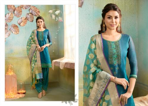 Kessi Fabrics Silk Patiyala 5376 Price - 999