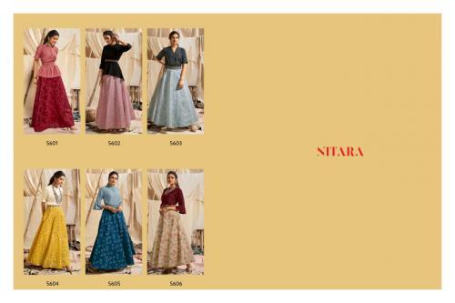Nitara Sparkles 5601-5606 Price - 7950