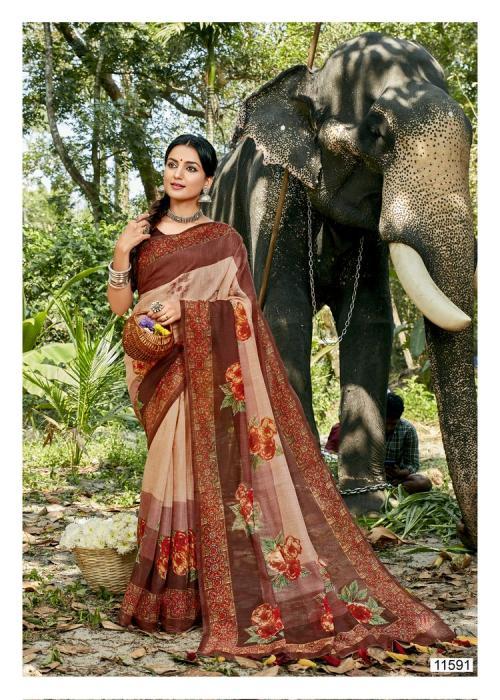 Triveni Saree Cocktail 11591 Price - 575