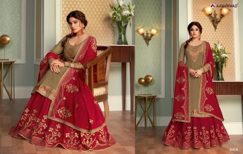 Aashirwad Creation Saara 8418 Price - 2895