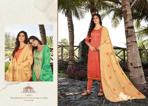 Kessi Fabrics Taj Vol-2 5521-5528 Series