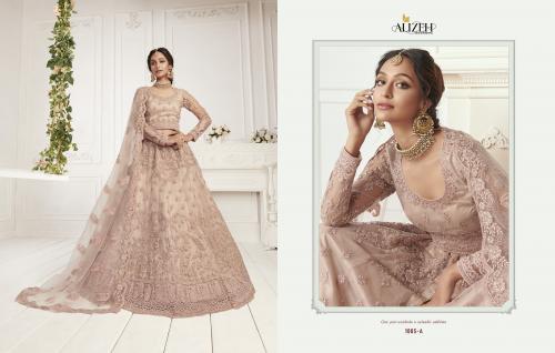 Alizeh Bridal Heritage Colour Saga Vol-2 1005-1008 Colors