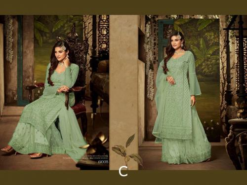 Mohini Fashion Glamour 61005 C Green