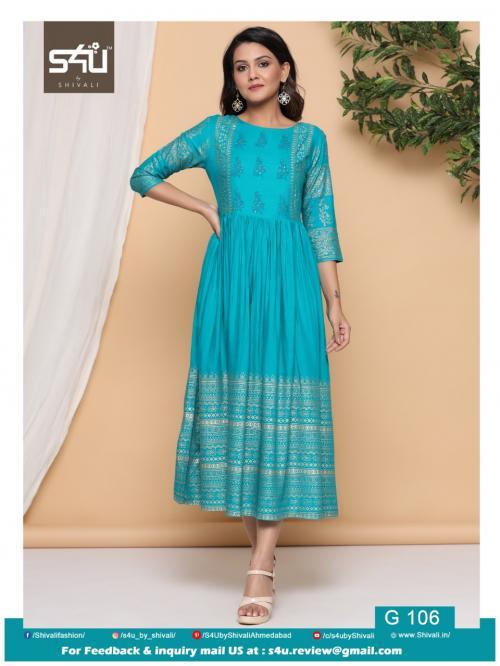 S4U Shivali Gold 106 Price - 629