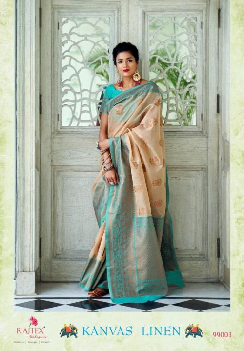 Rajtex Saree Kanvas Linen 99003