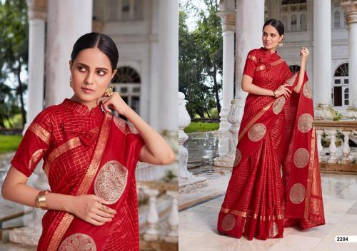 LT Fabrics Saree Aroma 2204