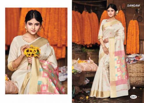 Sangam Prints Aaradhya Handloom 4007 Price - 1125
