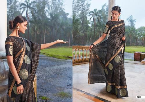LT Fabrics Saree Aroma 2202