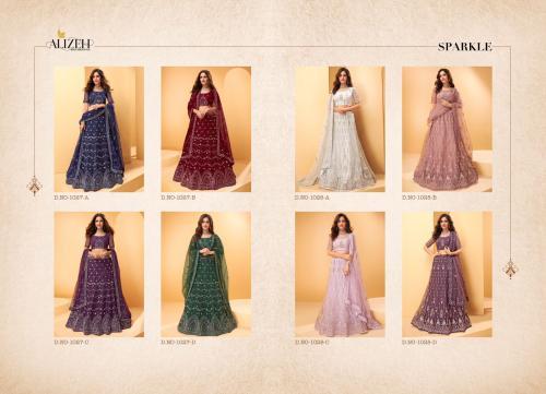 Alizeh Lehenga Sparkle 1027-1028 Price - 49400