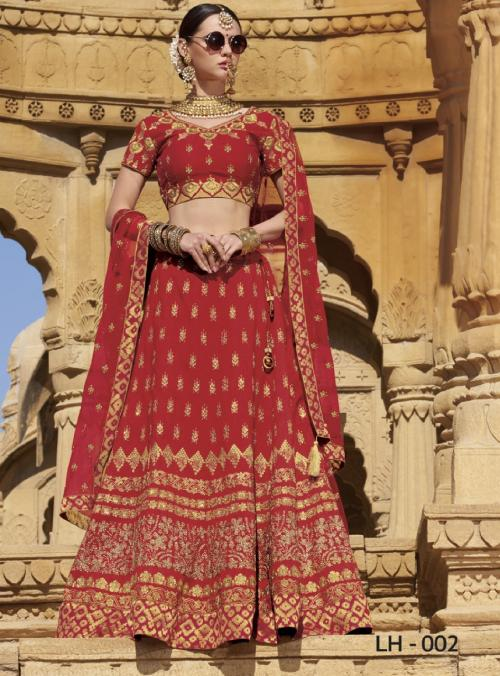 Jodha Wedding Lehengas LH-2-LH-7 Series