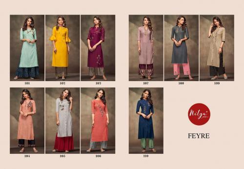 LT Fabrics Nitya Feyre 101-110 Price - 9500