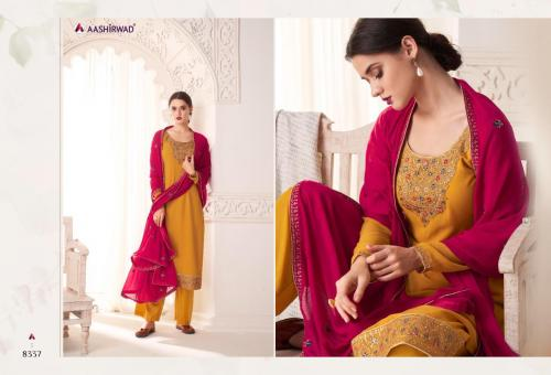 Aashirwad Creation Maria 8337 Price - 1495