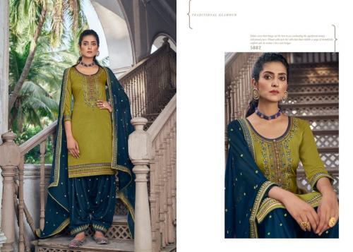 Kessi Fabric Patiala House 5882 Price - 849