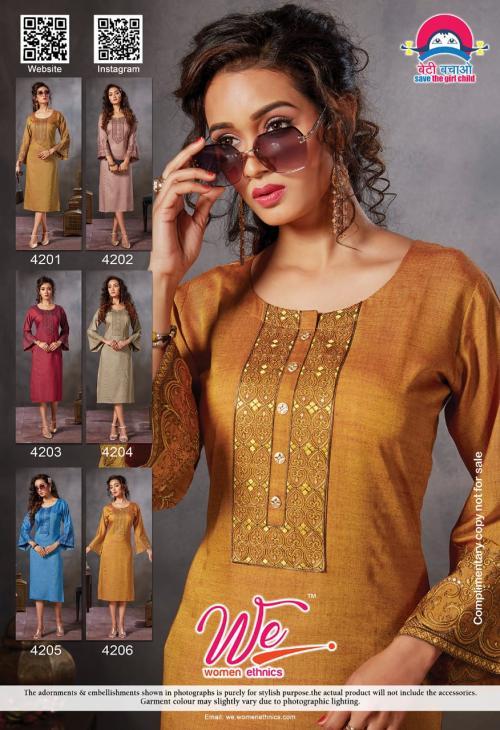 We Women Ethnics Arties 4201-4206 Price - 3750