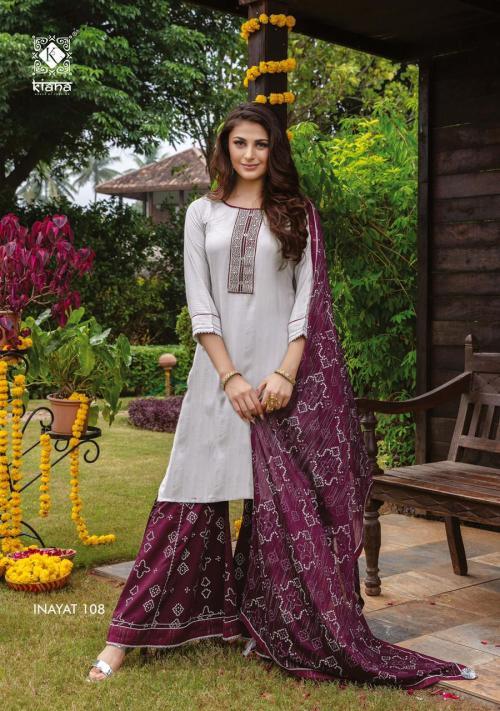 Kiana Fashion Inayat 108 Price - 1140