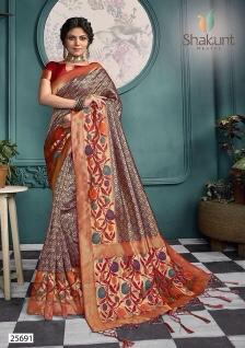 Shakunt Saree Swarnalata 25691-25696 Series