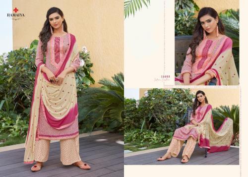 Kessi Fabrics Ramaiya Rose Gold 11055 Price - 699