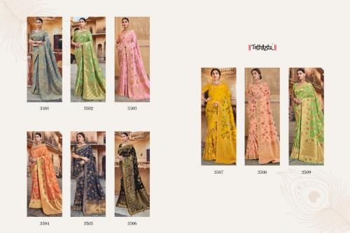 Tathastu Saree 3501-3509 Price - 33415